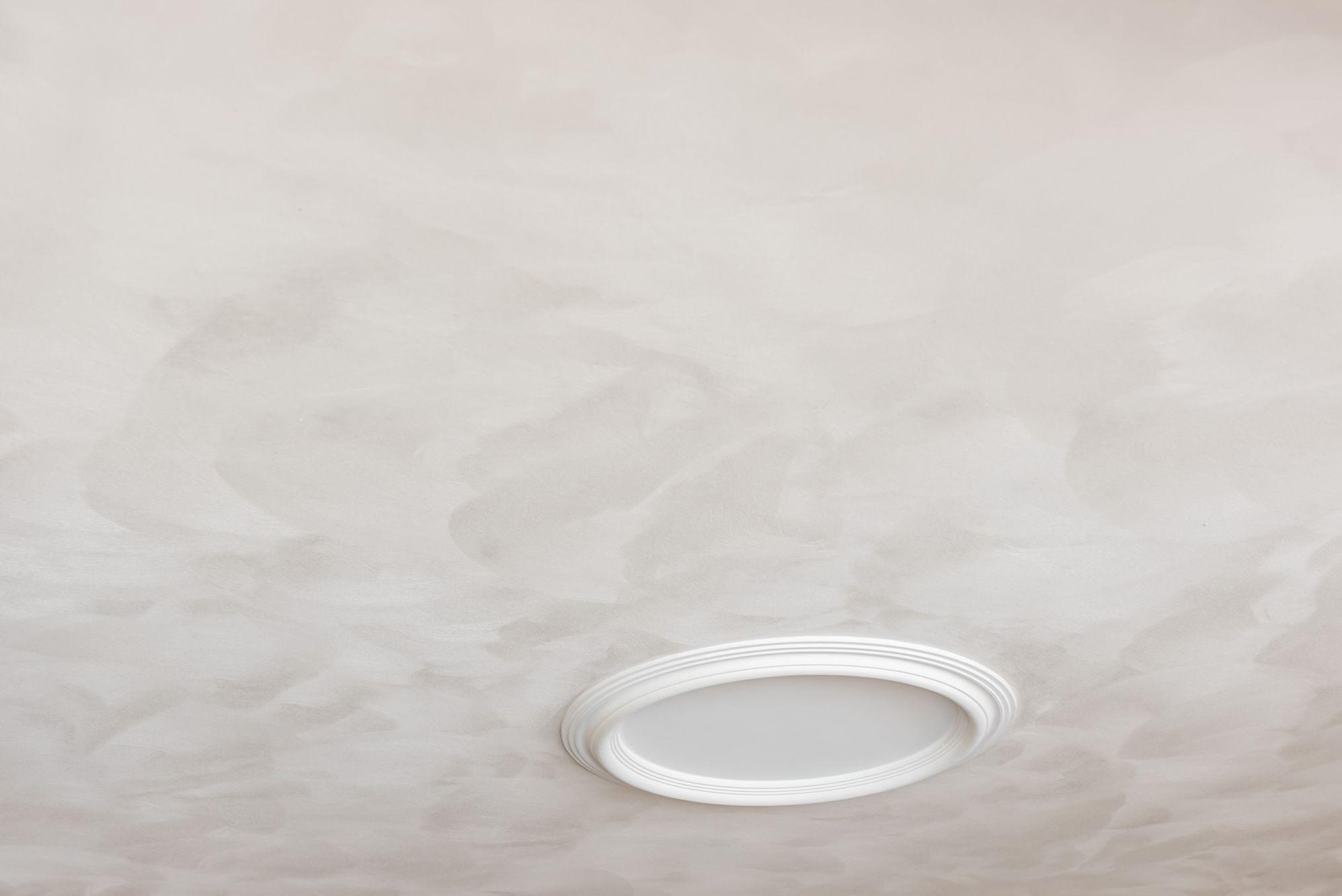 plafond schuurwerk (licht gevlamd)